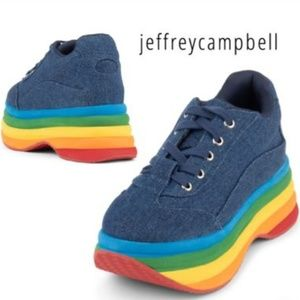 Jeffrey Campbell  Casual Style Street Style Platfo
